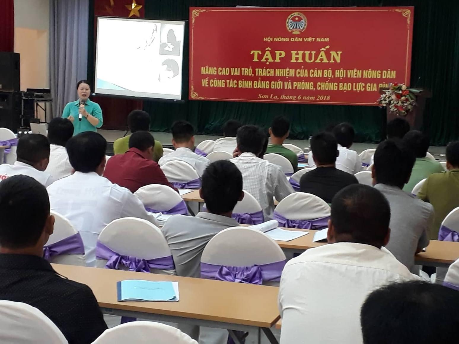 TW Hội NDVN: Tập huấn bình đẳng giới và phòng, chống bạo lực gia đình cho 1.260 hội viên, nông dân