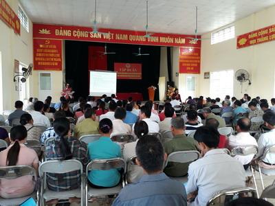 Tập huấn bình đẳng giới và phòng chống bạo lực gia đình cho trên 1.200 cán bộ, hội viên, nông dân