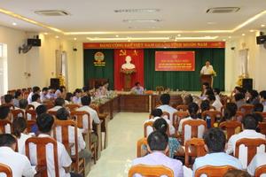 Hội ND Ninh Bình: Góp ý vào dự thảo Nghị định quy định về tập trung, tích tụ đất đai cho sản xuất nông nghiệp