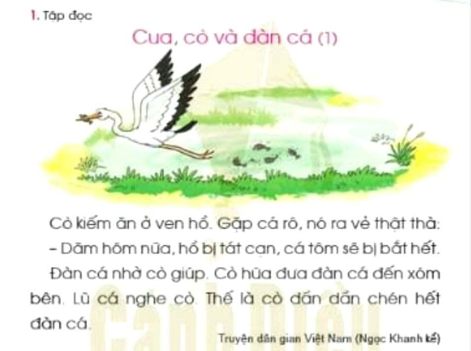 Chỉnh sửa SGK Tiếng Việt 1 bộ Cánh Diều