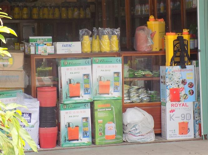 Nhiều sai phạm kinh doanh thuốc BVTV ở Phú Yên