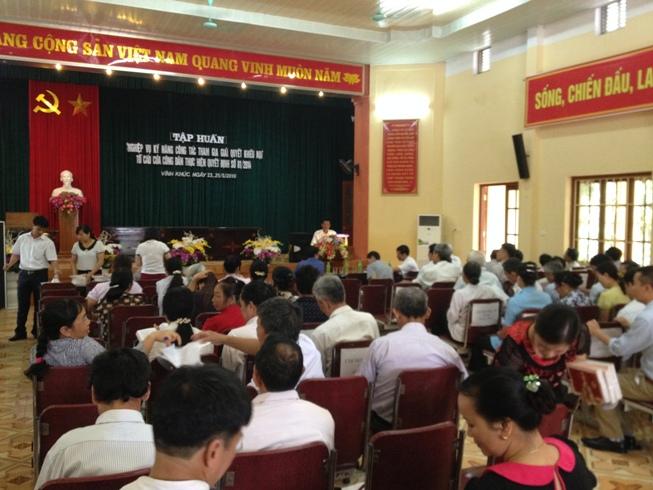 Hưng Yên: Phát huy vai trò của Hội trong triển khai thực hiện Quyết định 81 của Thủ tướng Chính phủ