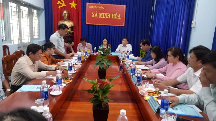 Xã Minh Hòa (Bình Dương): Tham gia góp ý xây dựng Đảng, chính quyền
