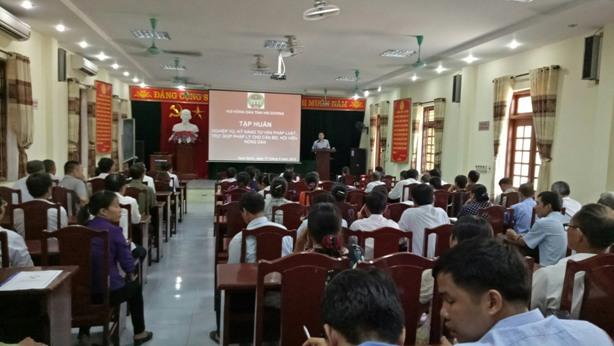 Hải Dương: Tham gia hòa giải thành 575 vụ mâu thuẫn trong hội viên, nông dân