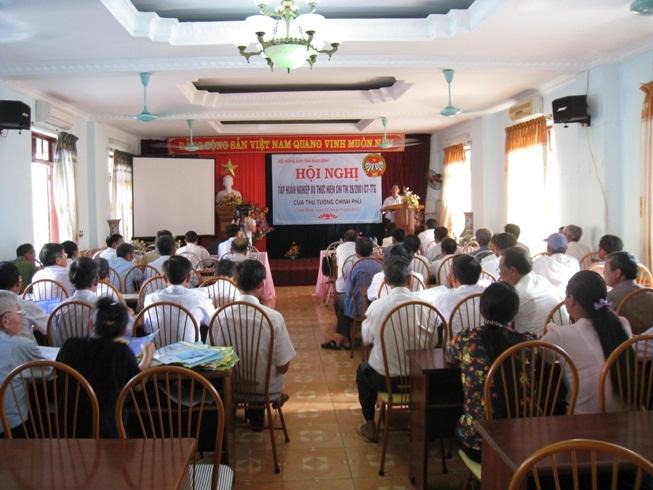 Vĩnh Long: Hòa giải thành 157 vụ việc