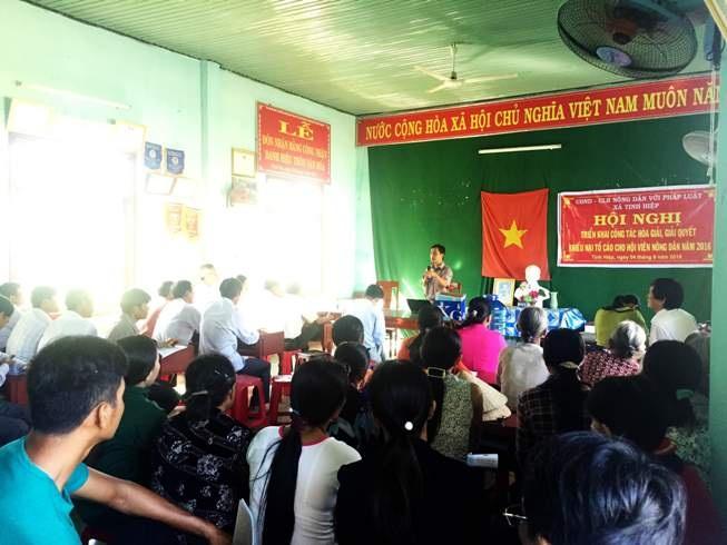 Hội ND Thừa Thiên- Huế: Thực hiện tốt hoạt động tư vấn, trợ giúp pháp lý