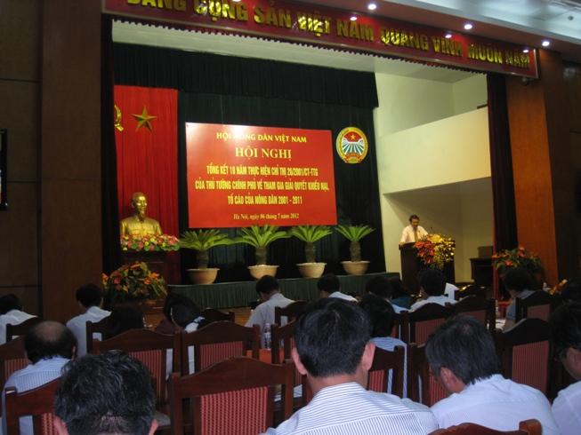 Thái Nguyên: Tuyên truyền các văn bản pháp luật cho cán bộ, hội viên, nông dân