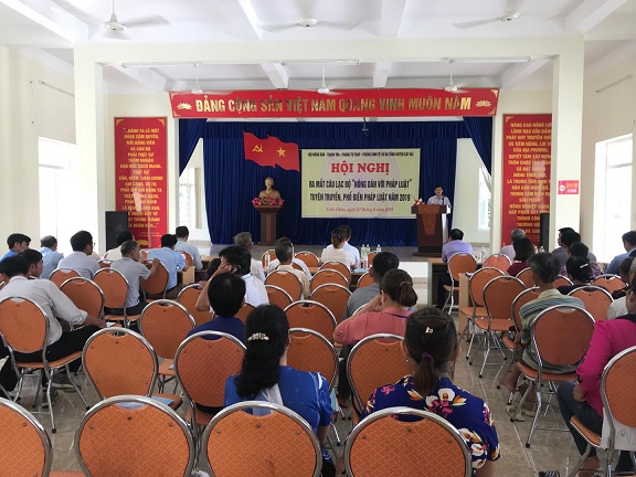 Hội ND Thái Nguyên: Duy trì hoạt động của 15 Câu lạc bộ Nông dân với pháp luật