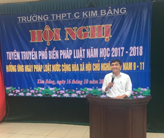 Hội ND Hà Nam: Tích cực hưởng ứng Ngày Pháp luật năm 2019