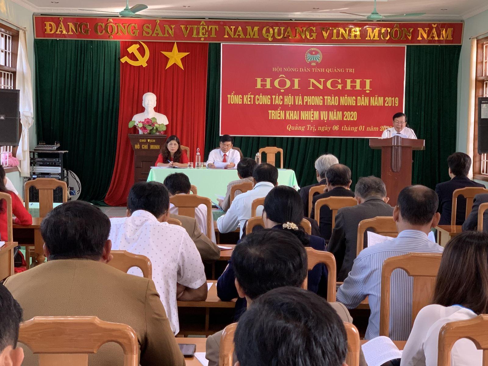 Hội ND Quảng Trị: Xây dựng kế hoạch kiểm tra, giám sát và phản biện xã hội, tham gia góp ý xây dựng Đảng, chính quyền năm 2020