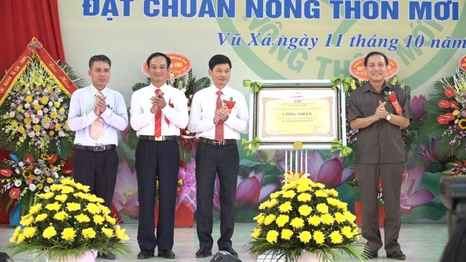 Hưng Yên có thêm 3 huyện đạt chuẩn NTM