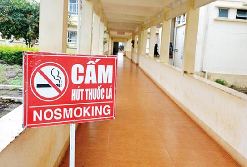 Hướng dẫn thực hiện quy định về địa điểm cấm hút thuốc lá