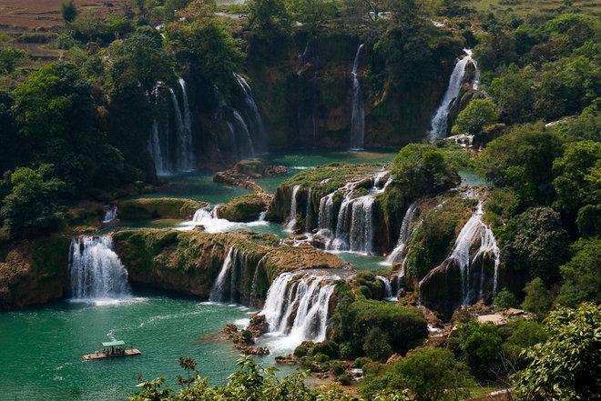 Bản Giốc vào top những thác nước hùng vĩ nhất thế giới