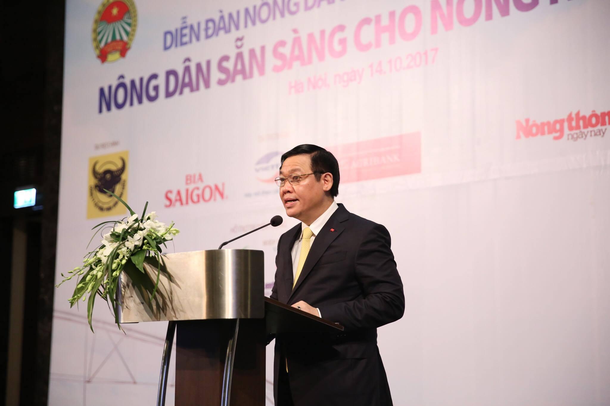 """Diễn đàn Nông dân Việt Nam lần thứ 2 với chủ đề """"Nông dân sẵn sàng cho nông nghiệp 4.0"""""""
