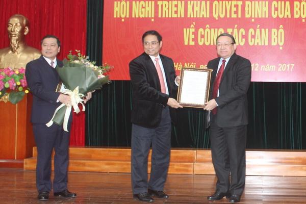 Đồng chí Thào Xuân Sùng được phân công giữ chức Bí thư Đảng đoàn Hội NDVN