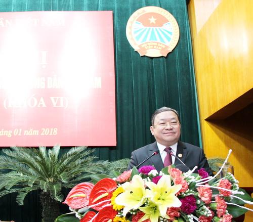 Đồng chí Thào Xuân Sùng được bầu giữ chức Chủ tịch BCH Trung ương Hội Nông dân Việt Nam