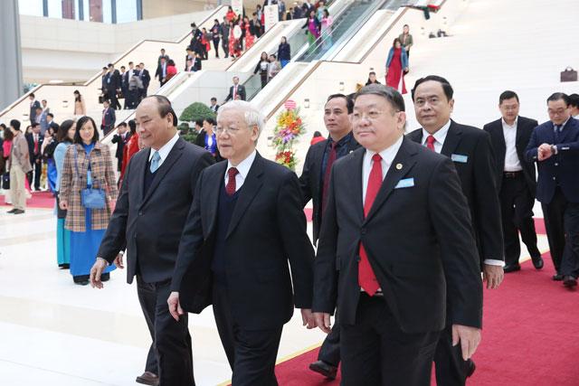 Lãnh đạo Đảng, Nhà nước dự Đại hội đại biểu toàn quốc Hội NDVN